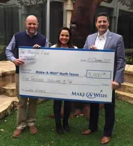 TMF Donates to Make-A-Wish Foundation on Behalf of Clients