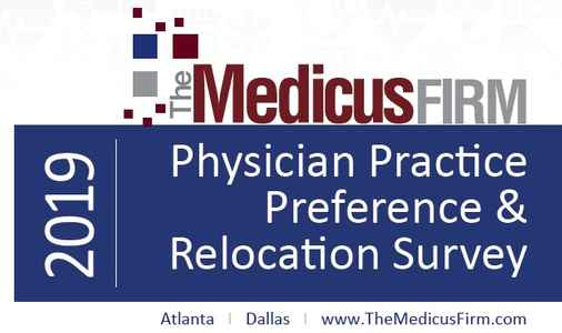 16th Annual Physician Practice Preference & Relocation Survey Released by The Medicus Firm
