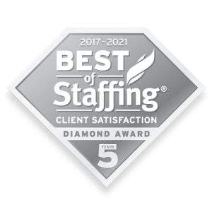 The Medicus Firm Wins ClearlyRated's 2021 Best of Staffing Client Diamond Award for Service Excellence