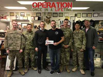TMF Donates to Operation Once in a Lifetime