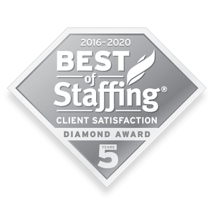 The Medicus Firm Wins 2020 Best of Staffing for the 8th Year and Receives the Diamond Award for Service Excellence from ClearlyRated