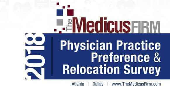 15th Annual Physician Practice Preference and Relocation Survey Released by The Medicus Firm